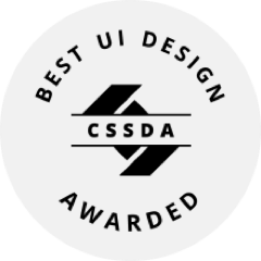 CSS Design Awards - Best UI