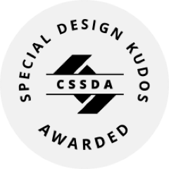 CSS Design Awards - Special Design Kudos